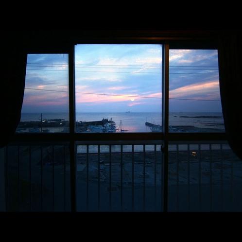 *部屋からの眺め