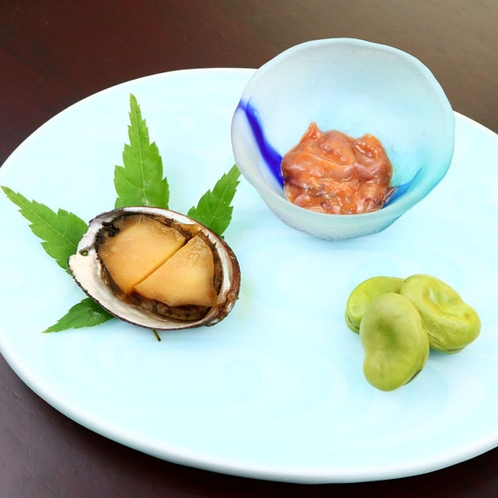 夕食◆前菜三点盛り