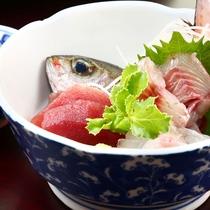 夕食◆旬魚のお造り
