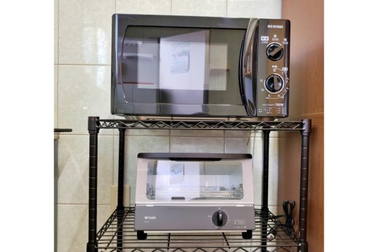電子レンジ&オーブントースター