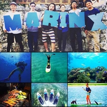 沖縄の遊びと海のエキスパート集団 マリンクスです。