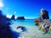 ホテルから一番近い無人島『コマカ島』