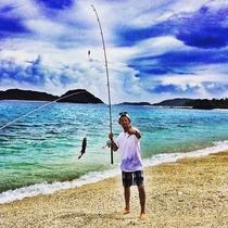 釣りも楽しい♪