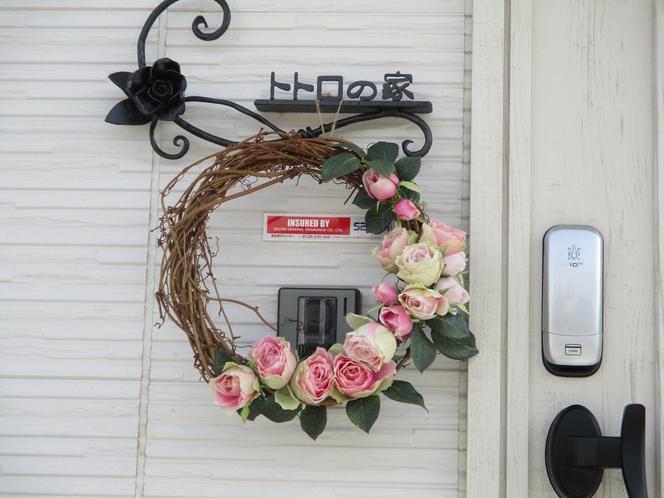 お花リース