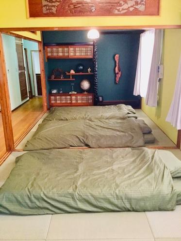 和室6畳+4.5畳(寝室)