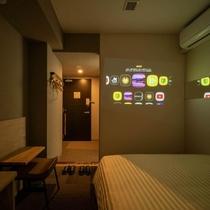 【Smart】popIn Aladdin完備のお部屋。多彩なコンテンツをお楽しみ頂けます。