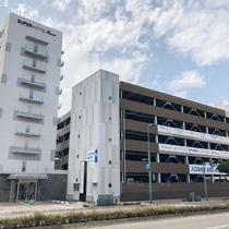 有料駐車場は600円です