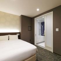 ユニバーサルバスダブル/20平米/ベッド幅1390