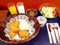 朝食メニュー※パンは一部日替わり