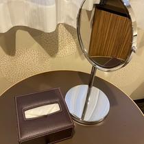 ■客室備品:ミラー/ティッシュ