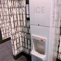 2階には製氷機をご用意しております。