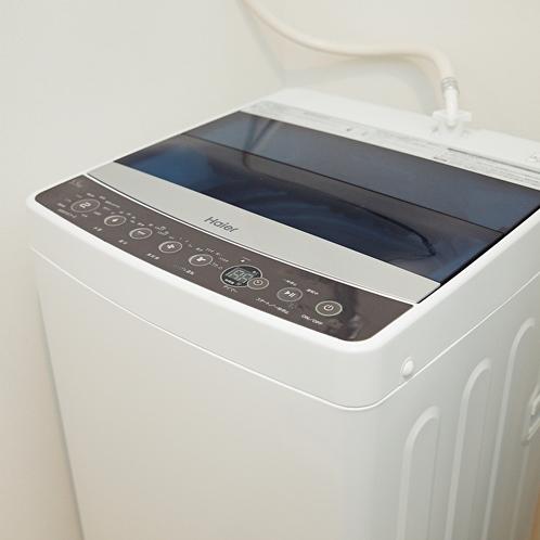 【洗濯機】長期滞在のお客様に喜ばれております。