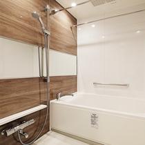 【浴室】バス・トイレセパレートなので自宅にように快適に過ごせます。