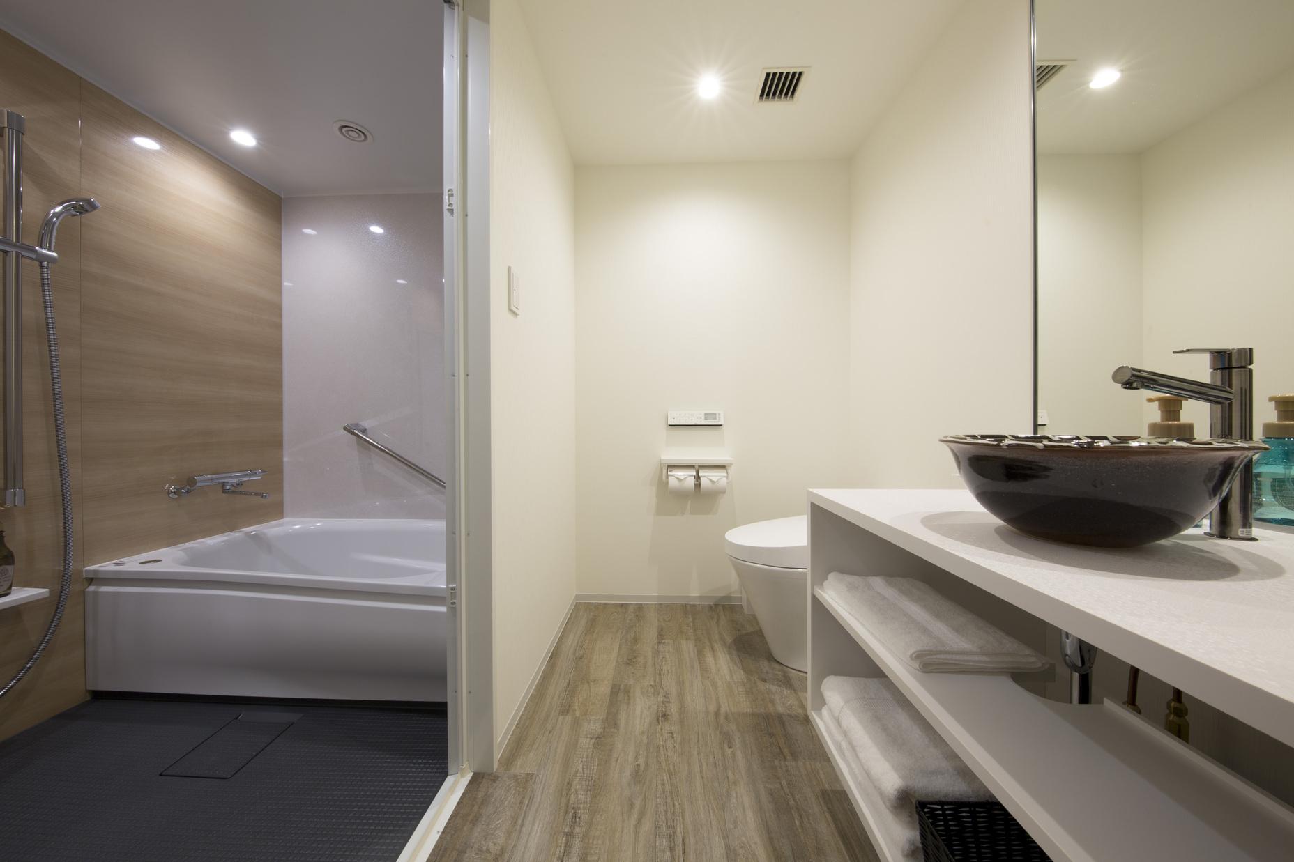 分離式バストイレ(ツインルーム・スーペリアツインルーム)