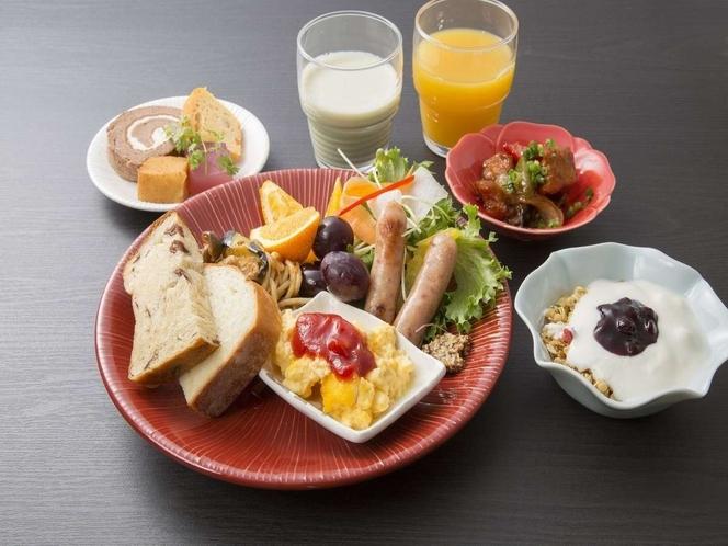 朝食ビュッフェ盛り合わせ 例 その①