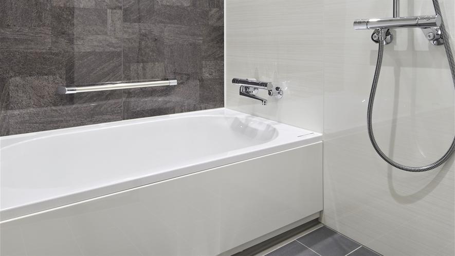 【モデレートクイーン&スーペリアツイン】洗い場付バスルーム