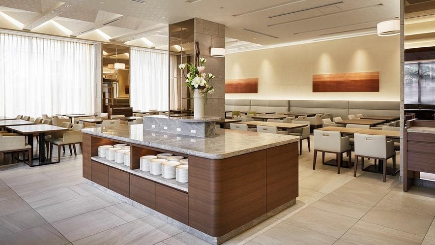 朝食ブッフェは午前7時~10時まで営業しております(最終入店 9:30)