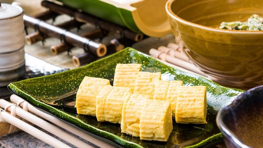【厚焼き玉子】和食の職人が丁寧に作り上げた一品!渾身の自家製厚焼き玉子