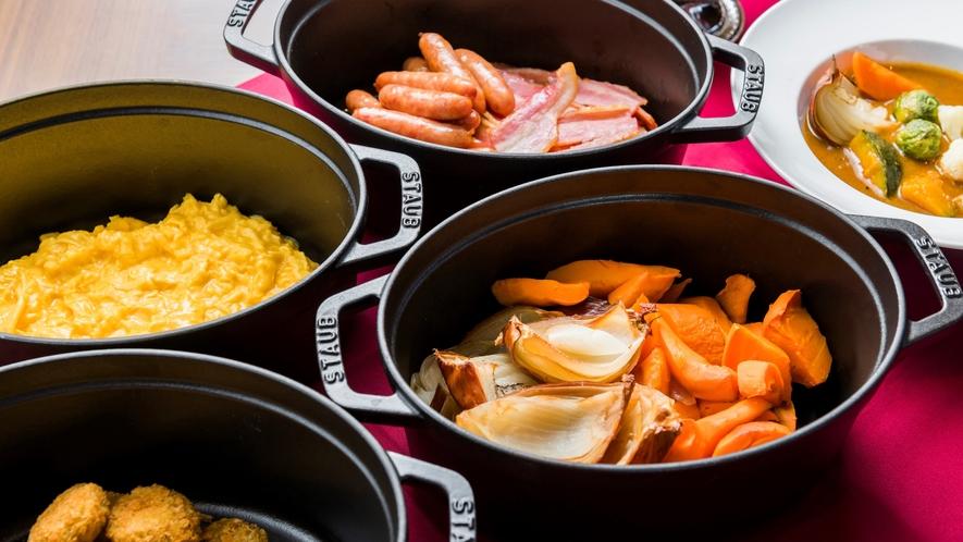 朝食ブッフェ(洋食イメージ)