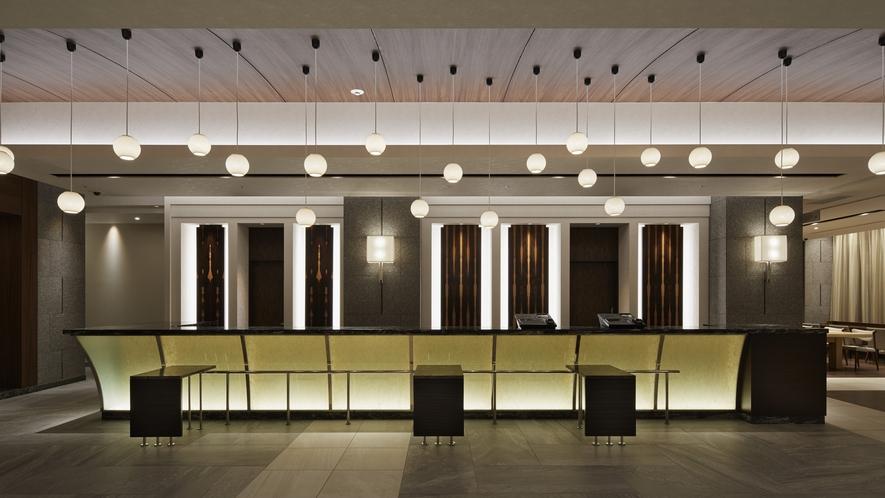 ホテル2F フロントカウンター