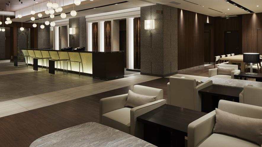 ホテル2F ロビースペース