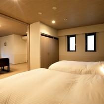 【コンフォートルーム】寝室とリビングは仕切れるので朝も朝食スタッフを気にせず寝ていてOK