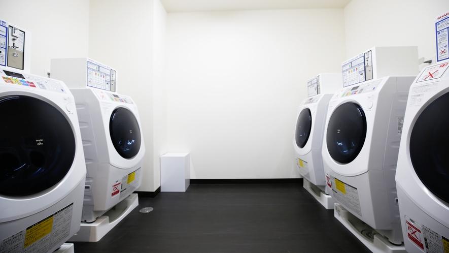 《コインランドリー》洗濯〜乾燥まで様々なコースがあります