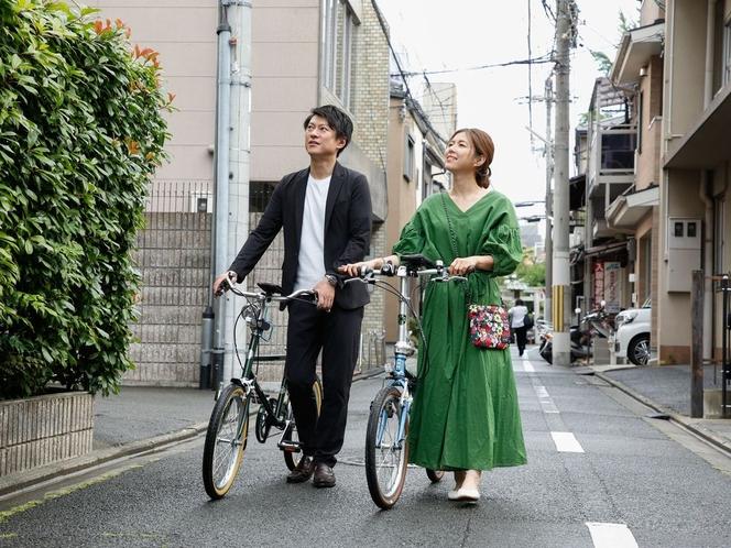 ポタリングプランなら自転車貸出無料