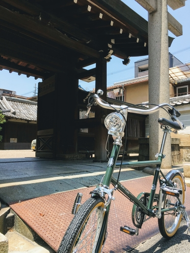 初夏のポタリング☆自転車で街を駆け抜けよう