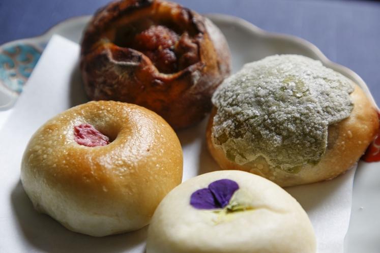 徒歩7分の和のパン屋さん「マッシュキョウト」のパン。早めに起きてお散歩がてら、買い物にいかがですか?