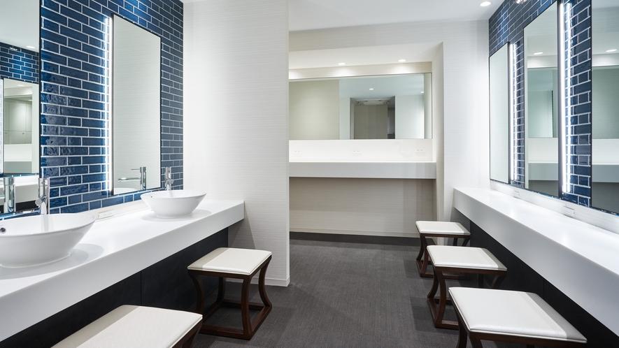 <大浴場>女性用パウダールーム