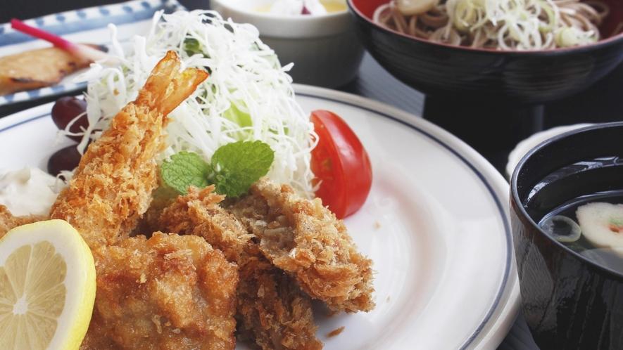 味もボリュームも満足して頂けるお料理をご用意いたします。