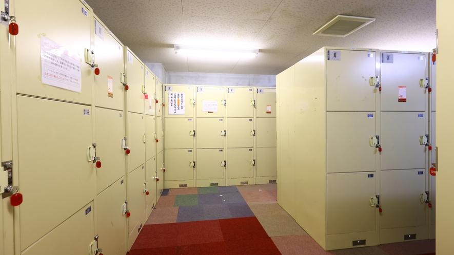 広い更衣室をご用意しております。