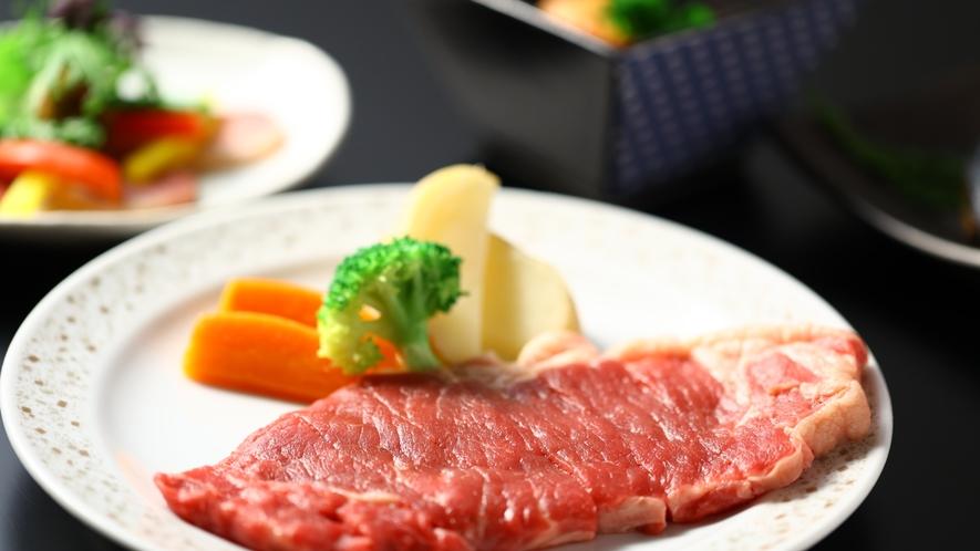 別注メニュー:牛ステーキ