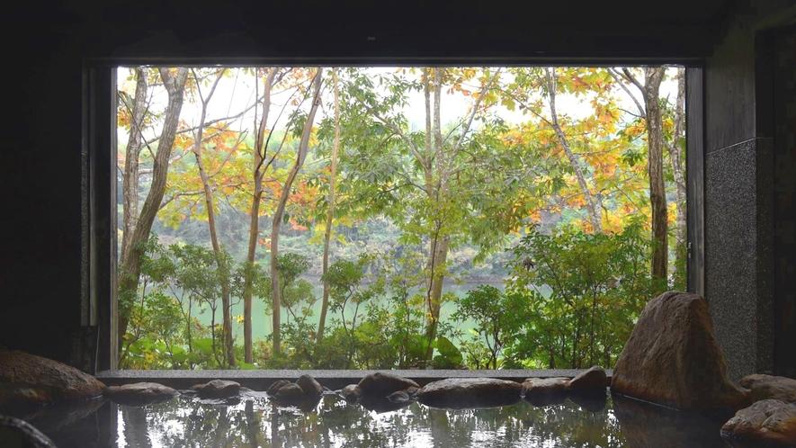 ・自然と一体になれる露天風呂