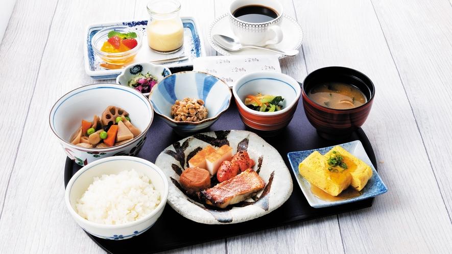 【朝食】和定食 Japanese set