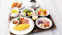 【朝食】オムレツプレート Omelette set