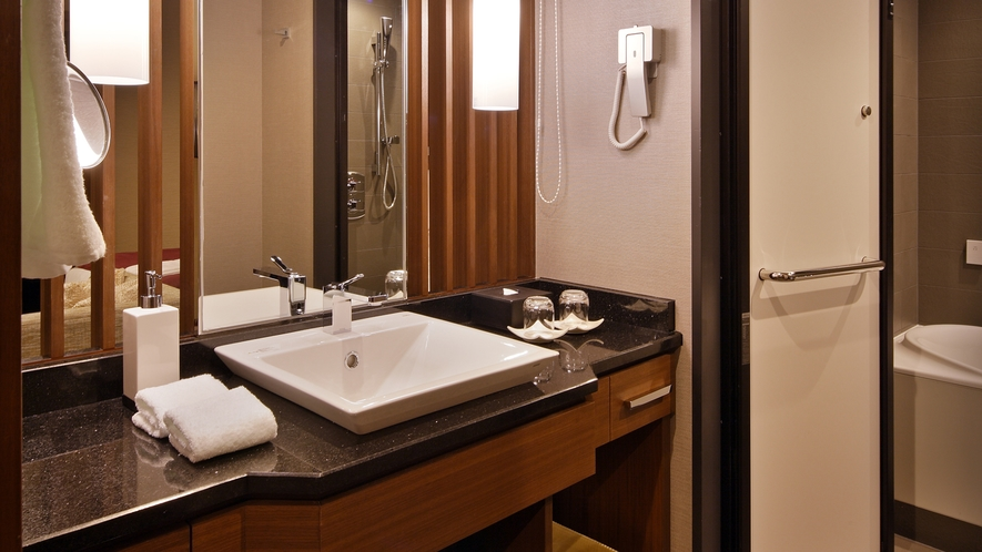 【27階グランヴィアフロア】モデレートツイン バスルーム
