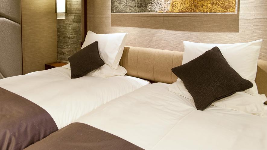 【27階グランヴィアフロア】質の高い睡眠をサポート