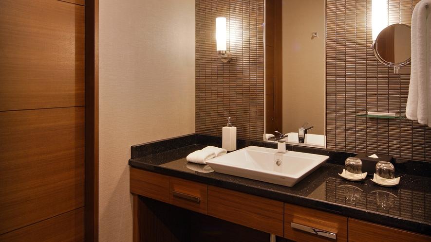 【27階グランヴィアフロア】スーペリアダブル バスルーム