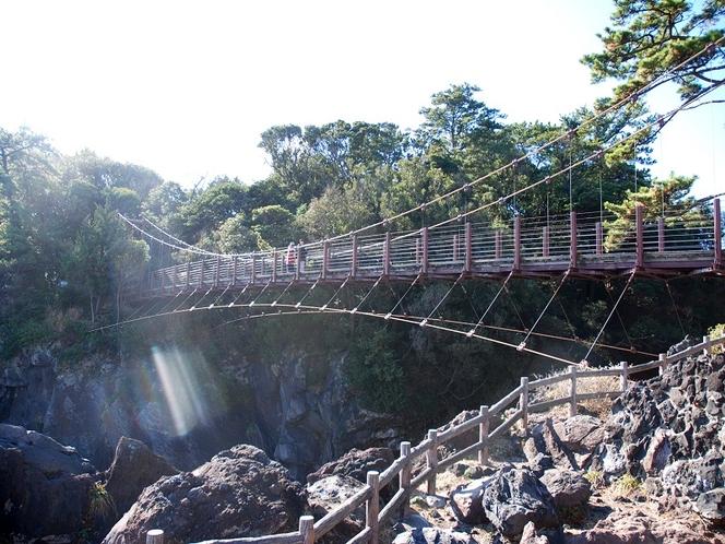 例・城ヶ崎海岸つり橋