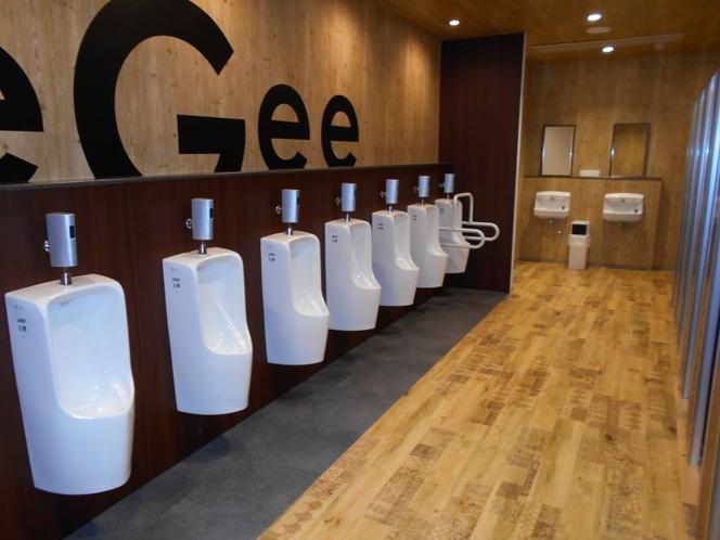 男性フロアートイレ