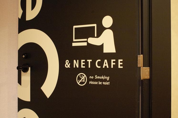 ネットカフェ 入り口
