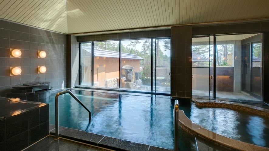 穂高温泉 空見の湯 内湯