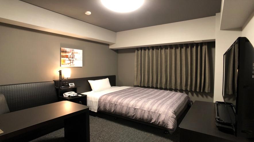 ★<シングルルーム>14平米 ベッド幅130センチ