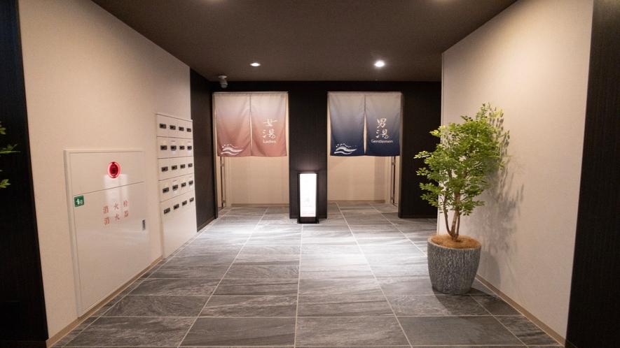 ★大浴場入口