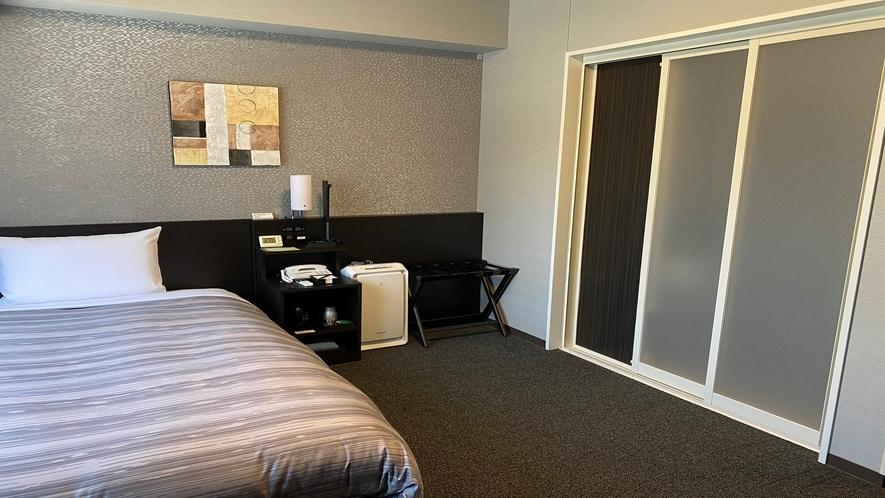 ★<バリアフリールーム>18平米 ベッド幅130センチ