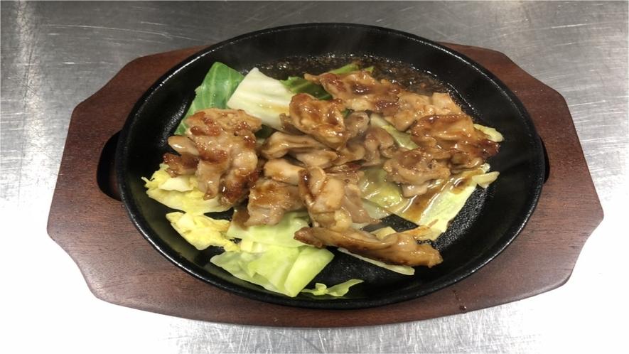 ★【夕食】若鶏もも焼き