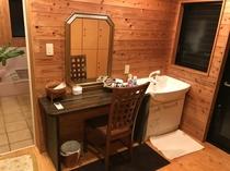 風呂場の洗面台