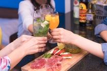 美味しいお酒におつまみをご用意しております!女子会も大歓迎です!♪